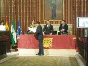 Entrega diplomas SICTED Sevilla