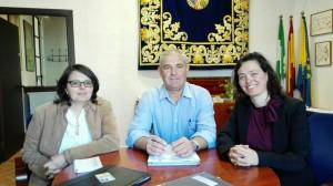 Firma convenio Ayuntamiento de Olivares